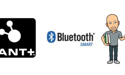 ANT+ et Bluetooth Low Energy