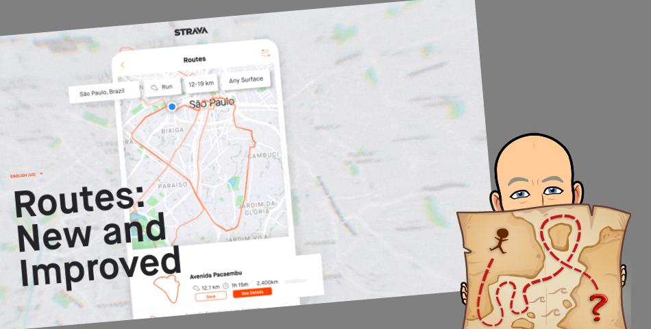Strava – Améliorations DU module itineraires