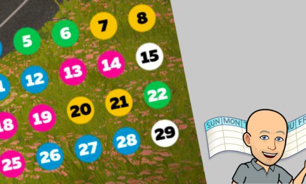 Zwift – Calendrier d'avril 2020