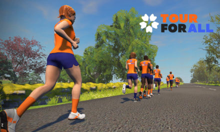 Zwift – Tour For All – Les Runs