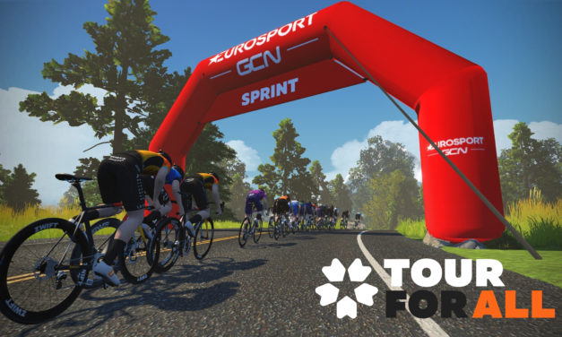 Zwift – Diffusion des pro-series du Tour for all