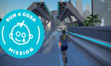 Zwift – La mission Run 4 GOSH