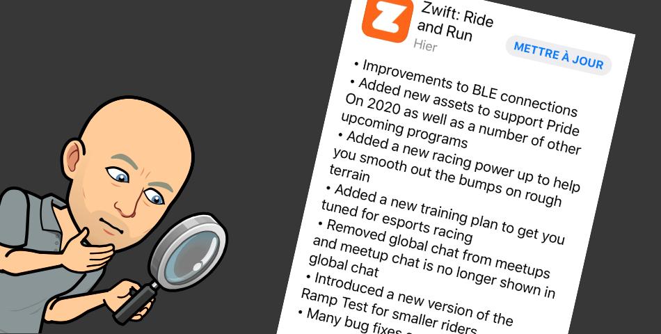 Zwift – Mise à Jour Juin 2020