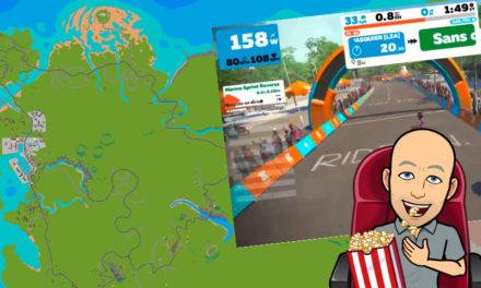 Zwift – La Map France en Vidéo – Route R.G.V.