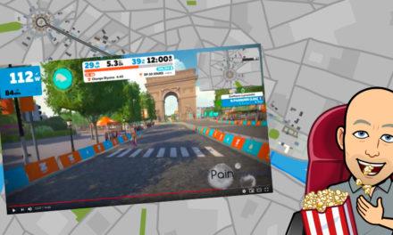 Zwift – Le Circuit Paris en Vidéo