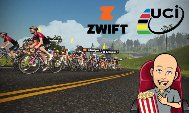 Un championnat du Monde UCI sur Zwift