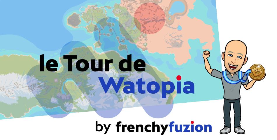 Zwift – Le Tour de Watopia de la Frenchy Fuzion